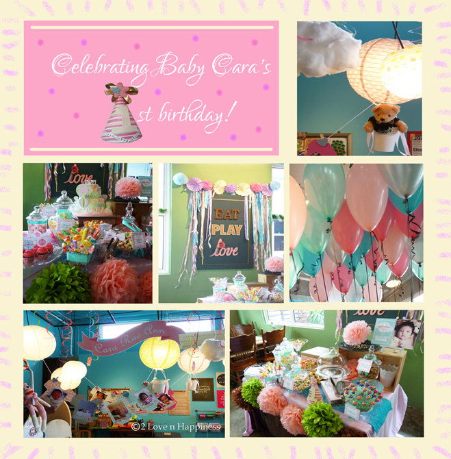 Wedding customised banner and photo props for Baby shower decoration singapore